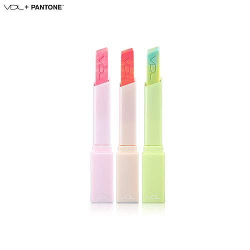 VDL Expert Color Lip Cube Marble Glow 3.3g [VDL+PANTONE 2017 Greenery Edition]